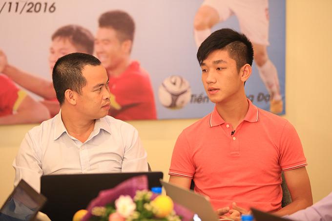 Đội trưởng hot boy Trọng Đại mơ viết tiếp lịch sử ở đấu trường World Cup - Ảnh 1.