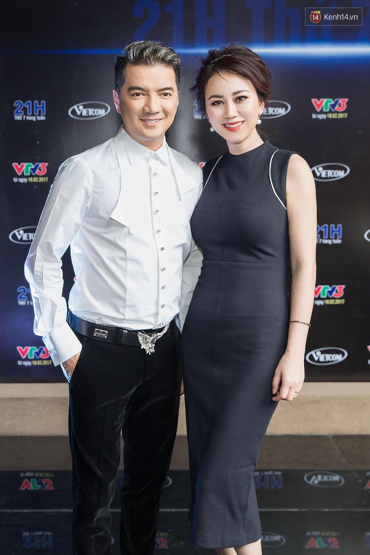 Đàm Vĩnh Hưng - Dương Triệu Vũ đầy tình cảm trong buổi ra mắt show thực tế mới cùng nhau - Ảnh 13.