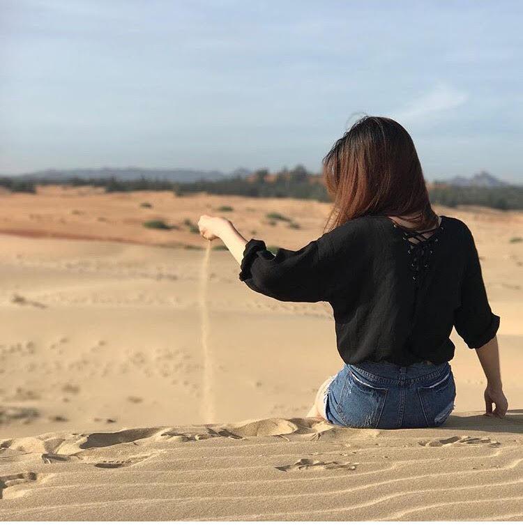Ngẩn ngơ trước 5 đồi cát đẹp mê hồn ở miền Trung, nhìn thôi đã yêu luôn rồi - Ảnh 36.