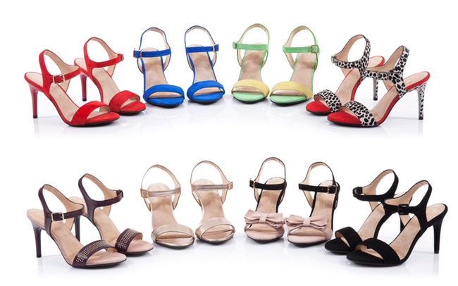 Các cô gái sẽ thèm thuồng muốn có đôi giày thay gót vi diệu bấm một cái là ra kiểu khác - Ảnh 3.