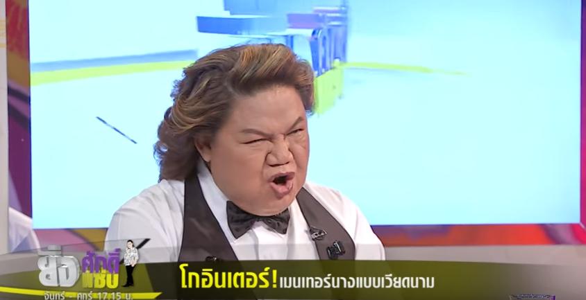 HLV Lukkade lên talkshow Thái Lan nói về scandal đi trễ và Hữu Vi ngồi trên bàn tại họp báo The Face Việt - Ảnh 6.