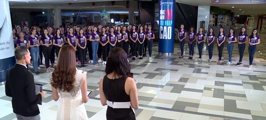 Hoàng Thùy - Mâu Thủy được đặc cách, không cần trải qua phần thi nói tiếng Anh tại Hoa hậu Hoàn vũ VN - Ảnh 1.