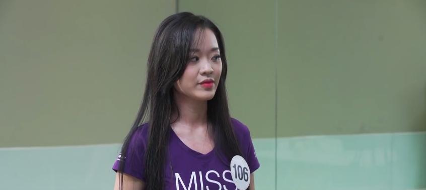 Clip: Thí sinh Hoa hậu Hoàn vũ VN vật lộn, toát mồ hôi hột khi phải nói tiếng Anh! - Ảnh 7.