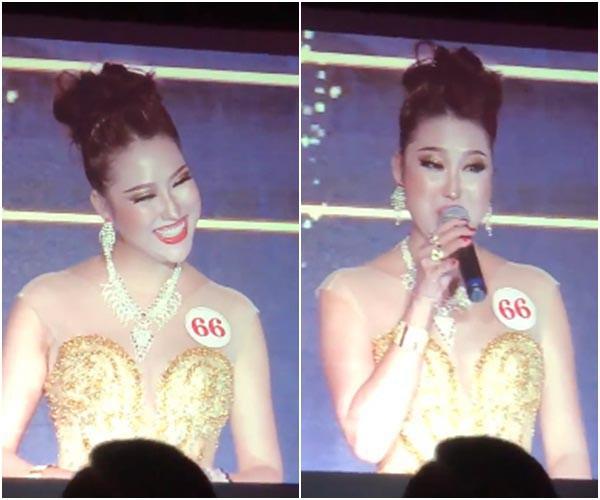 [Video] Phi Thanh Vân đoạt hoa hậu nhưng lại có phần thi ứng xử quá lố, gây cười - Ảnh 3.