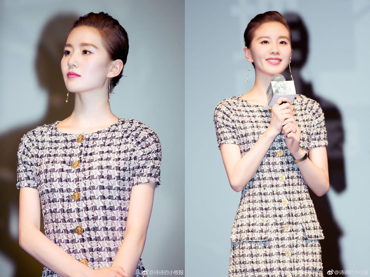 Cắt tóc tomboy siêu ngắn nhưng Lưu Thi Thi vẫn đẹp tựa nữ thần nhờ chọn được style phù hợp - Ảnh 7.