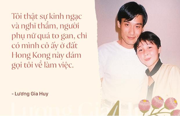 Ảnh đế Lương Gia Huy và Giang Gia Niên: Đời người đàn ông huy hoàng nhất là cưới được vợ tốt - Ảnh 6.