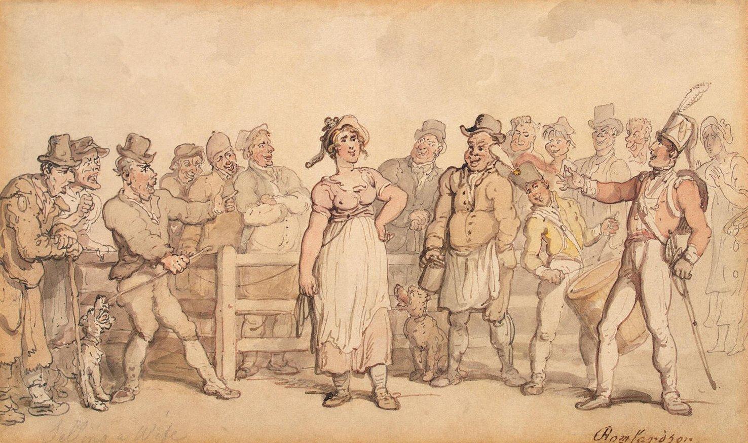 Sự thật phía sau câu chuyện những ông chồng buộc cổ, dắt vợ ra bán ngoài chợ như hàng hóa - Ảnh 2.