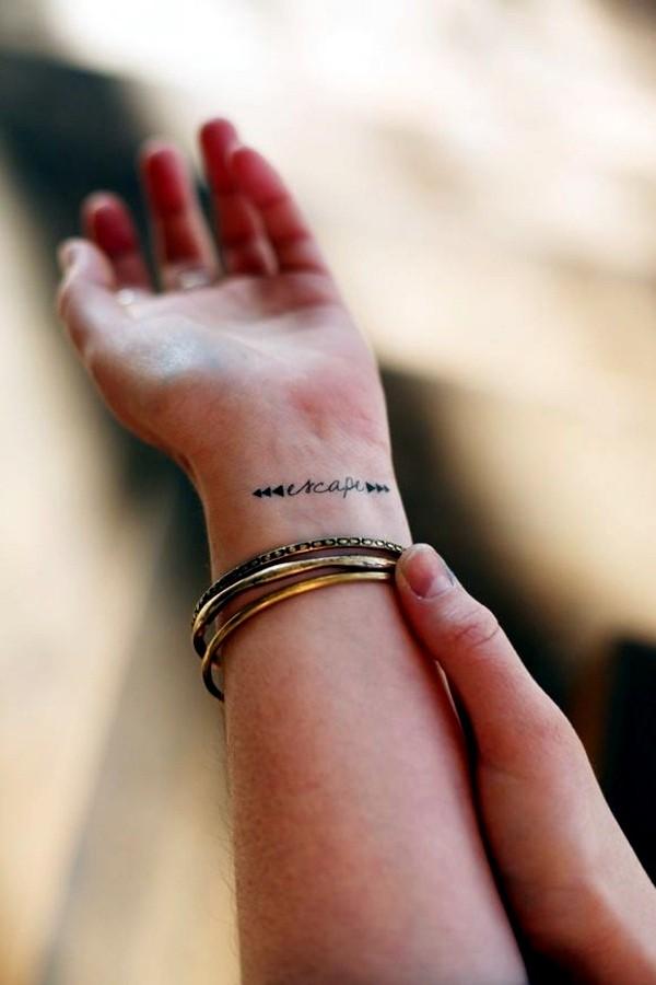 Xăm cổ tay vừa xinh vừa chất sẽ khiến bạn quên luôn sự tồn tại của mấy loại vòng vèo - Ảnh 7.