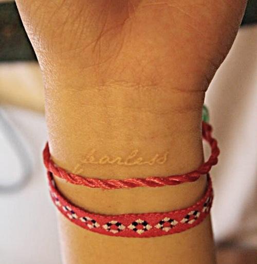 Xăm cổ tay vừa xinh vừa chất sẽ khiến bạn quên luôn sự tồn tại của mấy loại vòng vèo - Ảnh 29.
