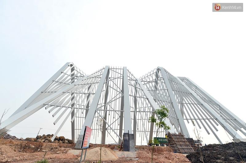 Clip: Cổng chào hoành tráng gần 200 tỷ đồng của tỉnh Quảng Ninh nhìn từ trên cao - Ảnh 9.