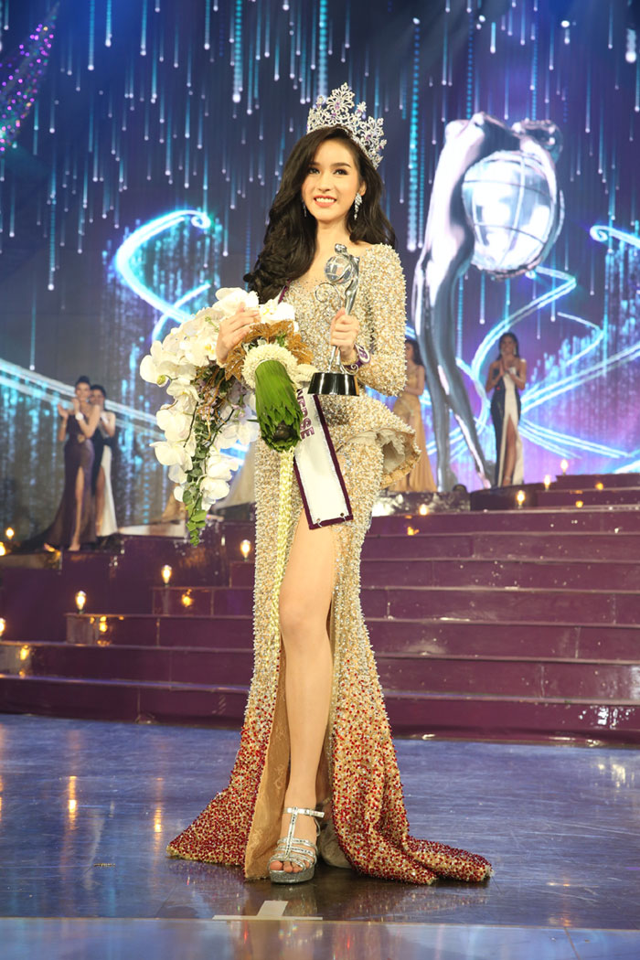Hoa hậu chuyển giới Thái Lan 2017: Cuộc thi hiếm có cả tân Hoa hậu và Á hậu 1 đều đẹp quá xuất sắc - Ảnh 3.