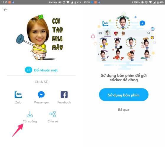 Cách tạo sticker Facebook cực độc bằng hình ảnh cá nhân - Ảnh 3.