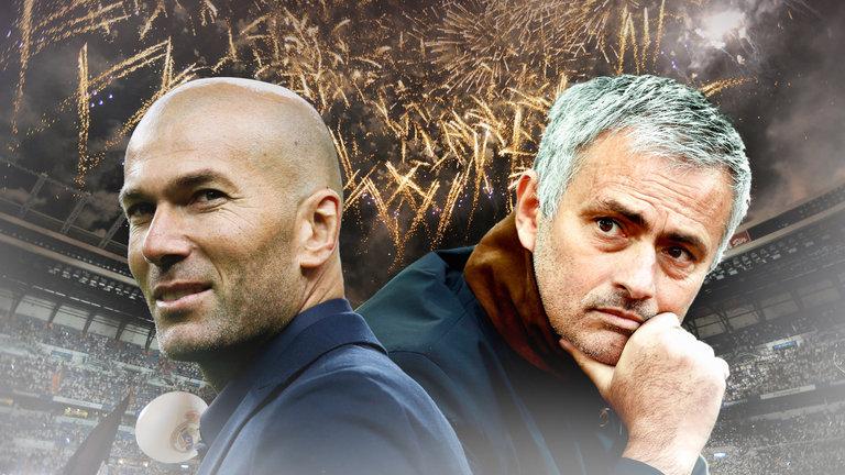 Zidane vs Mourinho: Cuộc chiến giữa thiên thần và ác quỷ - Ảnh 1.