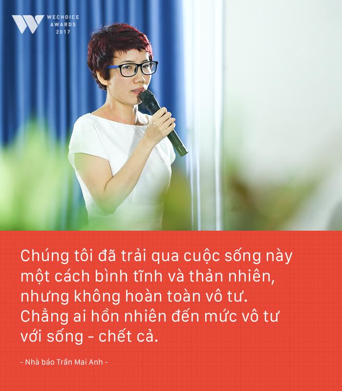 Nhà báo Trần Mai Anh: Tôi và Thiện Nhân phải tiết kiệm nước mắt, nỗi đau. Bởi không ai khổ giùm mình cả - Ảnh 3.