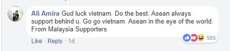 Dù còn gần ngày mới tới bán kết, người hâm mộ khắp châu Á đã gửi lời động viên tới đội tuyển U23 Việt Nam - Ảnh 9.