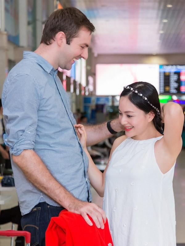 May mắn như diễn viên Lan Phương yêu trai Tây: vừa có bạn trai, vừa có chồng và làm mẹ chỉ trong 5 tháng! - Ảnh 3.