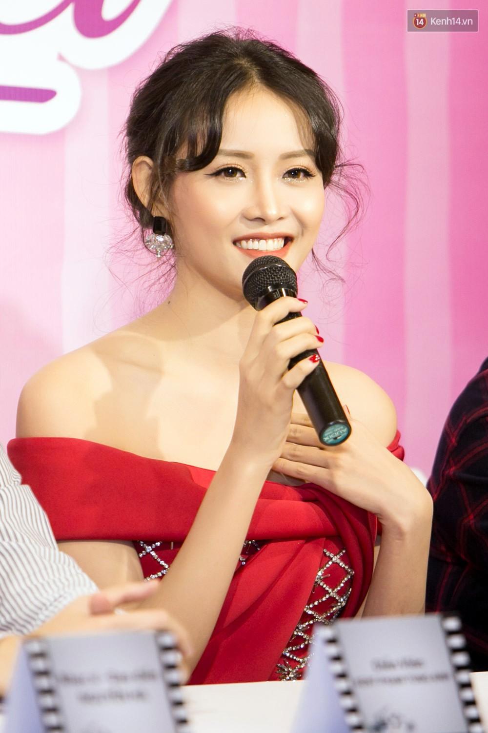 Bị nghi ngờ khả năng ca hát, Trương Mỹ Nhân hát live Đừng xe em đêm nay - Ảnh 5.