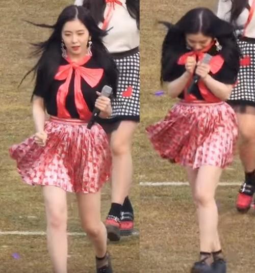 Biểu diễn trong trang phục mỏng manh giữa tiết trời lạnh giá, các idol nữ xứ Hàn khiến nhiều netizen xót xa - Ảnh 10.
