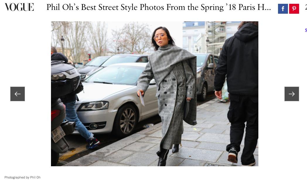 Thầm lặng là thế, nhưng đây là fashionista Việt đầu tiên xông đất mục street style Vogue năm nay - Ảnh 1.
