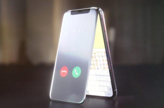 Đến Apple cũng chẳng thể ngờ sẽ có thiết kế iPhone X vỏ sò nắp gập độc đáo như thế này - Ảnh 1.