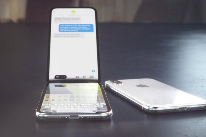 Đến Apple cũng chẳng thể ngờ sẽ có thiết kế iPhone X vỏ sò nắp gập độc đáo như thế này - Ảnh 3.