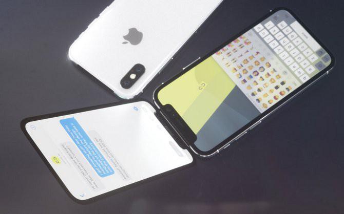 Đến Apple cũng chẳng thể ngờ sẽ có thiết kế iPhone X vỏ sò nắp gập độc đáo như thế này - Ảnh 2.