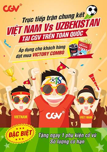 """Thưởng thức trận cầu """"ngàn năm có một"""" của U23 Việt Nam tại phòng chiếu đẳng cấp - Ảnh 1."""