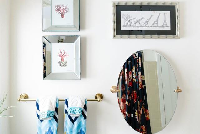 Biến không gian nhà ở sinh động bằng nhiều vật dụng mang họa tiết - Ảnh 10.