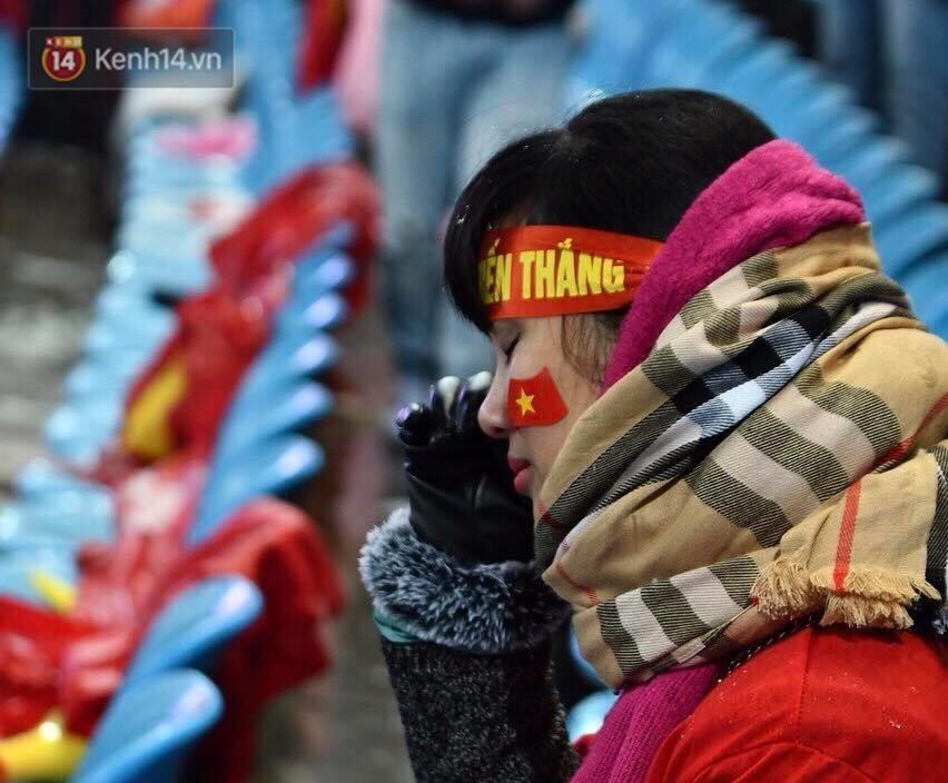 Trong tim các cổ động viên, U23 Việt Nam luôn luôn chiến thắng.