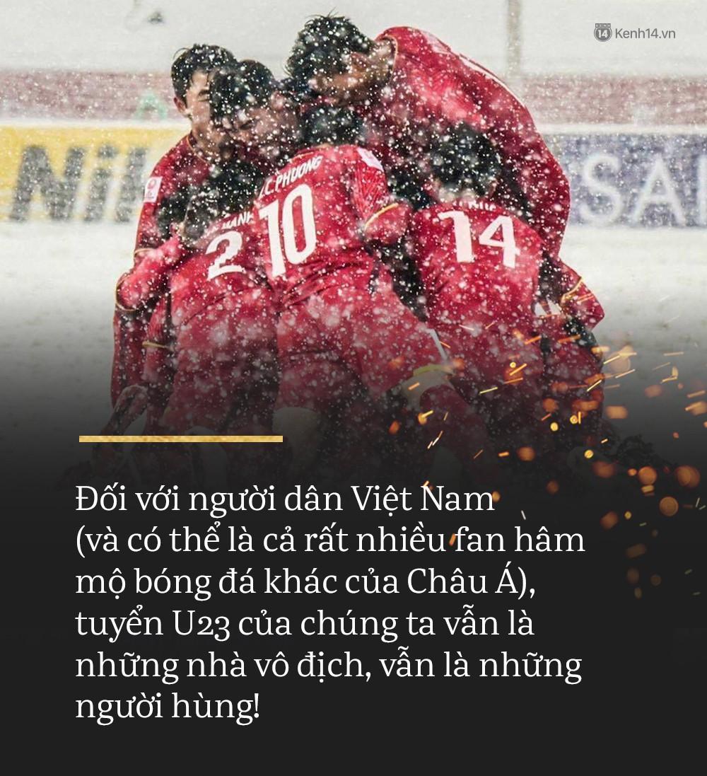 Cảm ơn U23, cảm ơn vì niềm tự hào các em đã mang đến cho bóng đá Việt! - Ảnh 4.