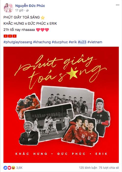 Sao Việt rộn ràng gửi lời chúc tới đội tuyển U23 Việt Nam trước trận chung kết lịch sử gặp Uzbekistan - Ảnh 9.