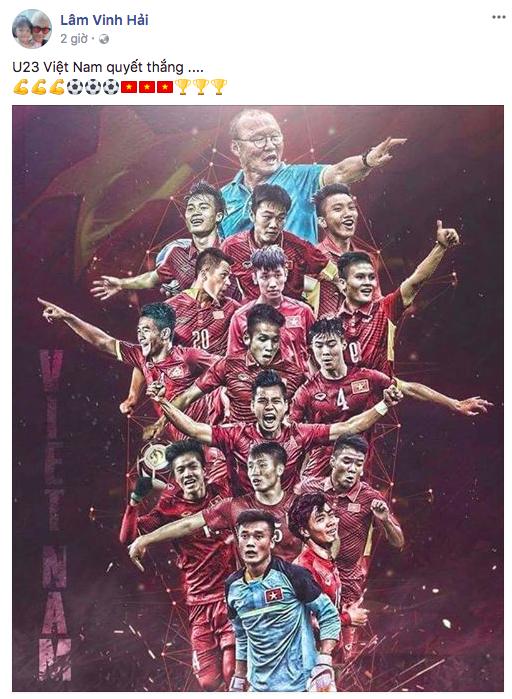 Sao Việt rộn ràng gửi lời chúc tới đội tuyển U23 Việt Nam trước trận chung kết lịch sử gặp Uzbekistan - Ảnh 12.