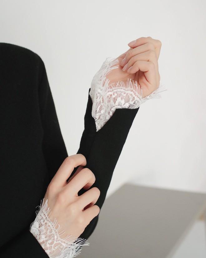 Học cách kết hợp áo len mới nhất này của các quý cô Hàn để diện Tết ngay còn kịp - Ảnh 11.