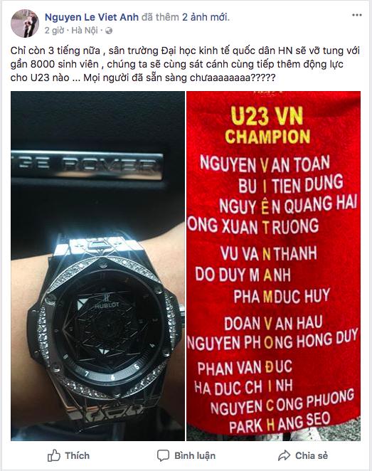 Sao Việt rộn ràng gửi lời chúc tới đội tuyển U23 Việt Nam trước trận chung kết lịch sử gặp Uzbekistan - Ảnh 10.
