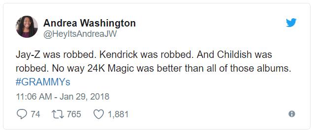 Grammy 2018: Album của năm cho Bruno Mars?, Kendrick Lamar đã bị cướp! - Ảnh 3.