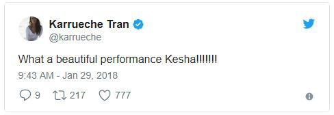 Cả showbiz xúc động vì màn trình diễn chống xâm hại tình dục của Kesha tại Grammy 2018 - Ảnh 5.