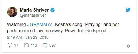 Cả showbiz xúc động vì màn trình diễn chống xâm hại tình dục của Kesha tại Grammy 2018 - Ảnh 6.