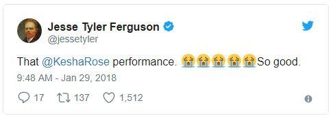 Cả showbiz xúc động vì màn trình diễn chống xâm hại tình dục của Kesha tại Grammy 2018 - Ảnh 7.