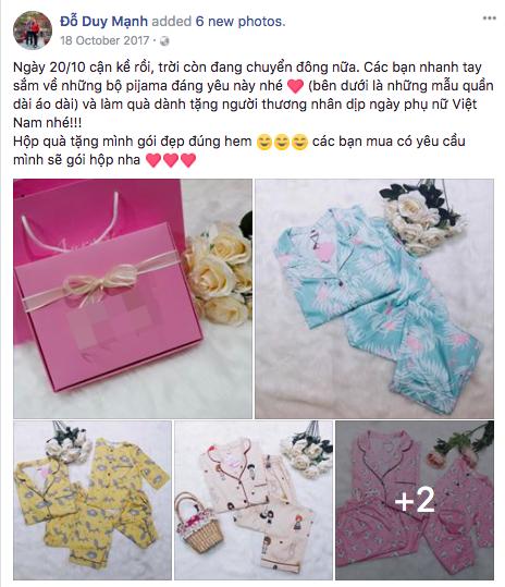 U23 Việt Nam ngoài Hồng Duy Pinky bán son còn có Duy Mạnh bán đồ ngủ nữa các chị em ơi! - Ảnh 4.