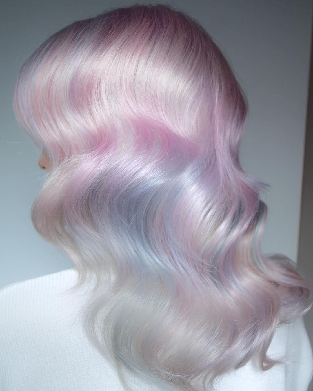Tóc nhuộm kẹo bông: màu nhuộm huyền ảo mở hàng cho xu hướng tóc 2018 đảm bảo sẽ khiến hội sành điệu phải rối rít - Ảnh 1.