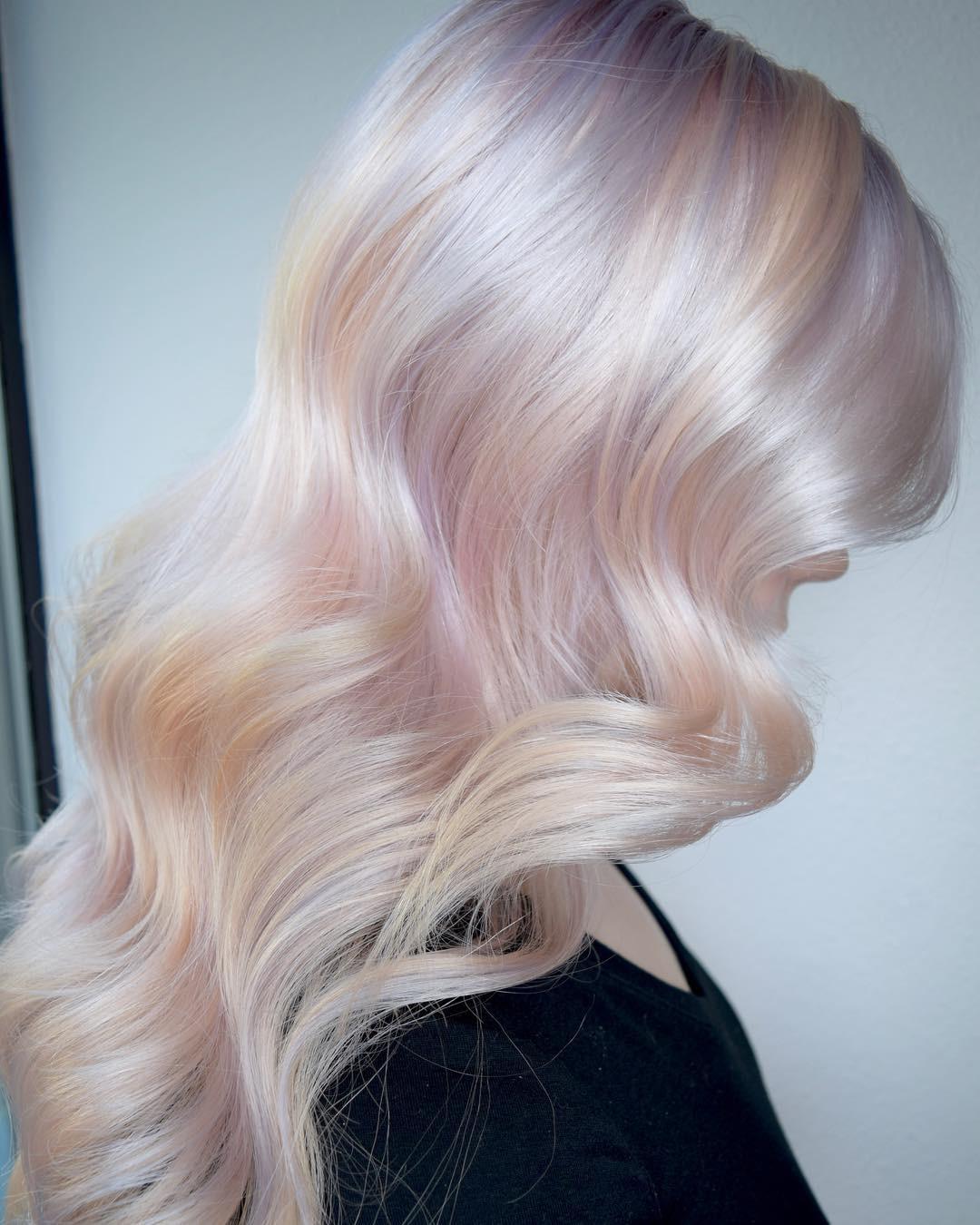 Tóc nhuộm kẹo bông: màu nhuộm huyền ảo mở hàng cho xu hướng tóc 2018 đảm bảo sẽ khiến hội sành điệu phải rối rít - Ảnh 2.