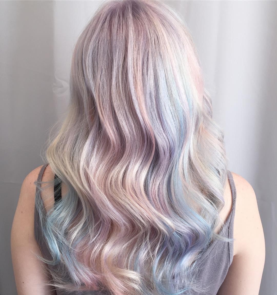 Tóc nhuộm kẹo bông: màu nhuộm huyền ảo mở hàng cho xu hướng tóc 2018 đảm bảo sẽ khiến hội sành điệu phải rối rít - Ảnh 5.