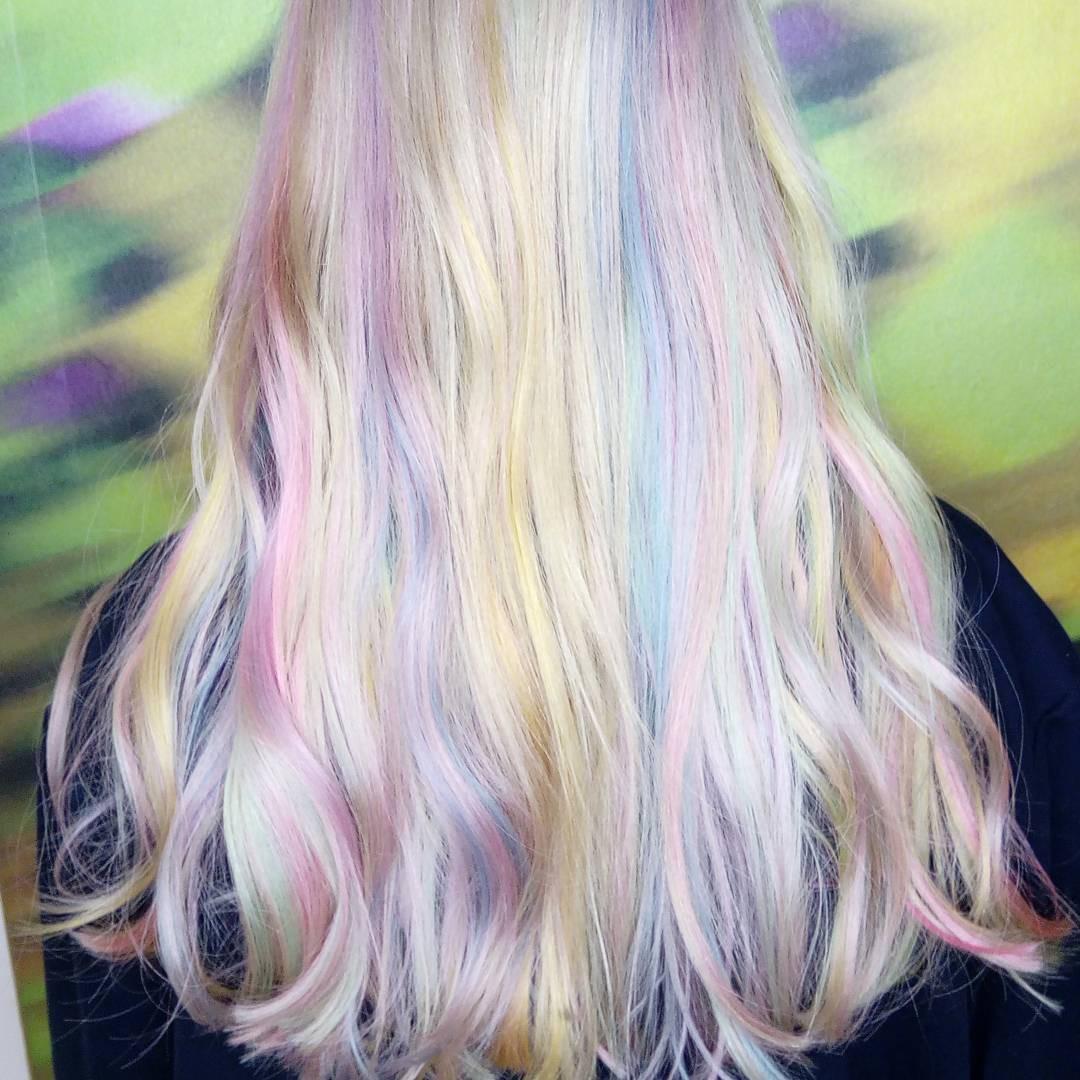 Tóc nhuộm kẹo bông: màu nhuộm huyền ảo mở hàng cho xu hướng tóc 2018 đảm bảo sẽ khiến hội sành điệu phải rối rít - Ảnh 6.