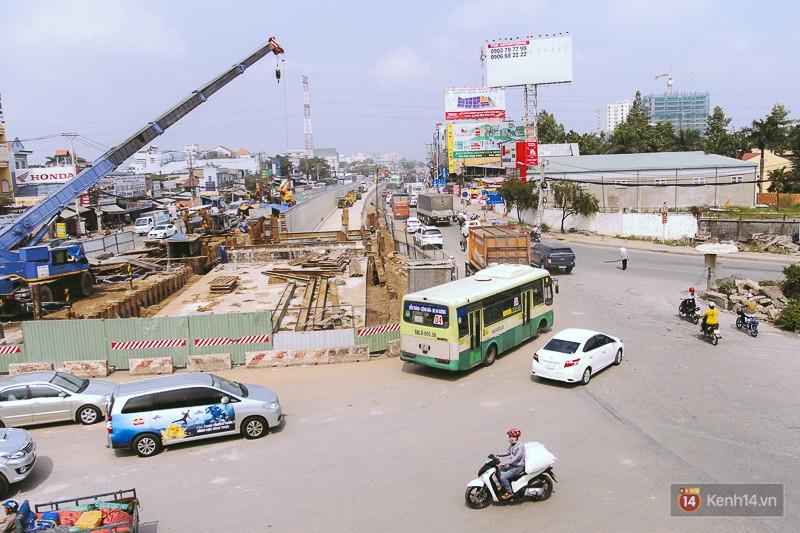 Cận cảnh hai nút giao thông 3 tầng đầu tiên ở Sài Gòn có tuổi thọ 100 năm, chịu được động đất cấp 7 - Ảnh 1.