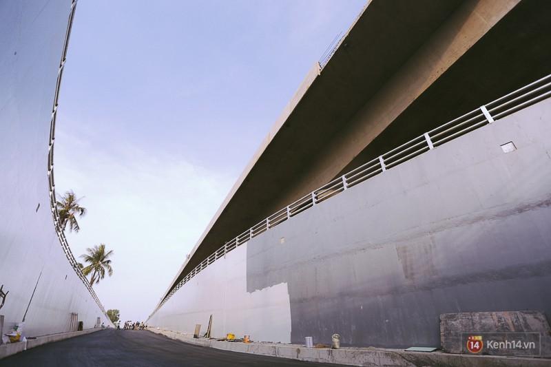 Cận cảnh hai nút giao thông 3 tầng đầu tiên ở Sài Gòn có tuổi thọ 100 năm, chịu được động đất cấp 7 - Ảnh 11.