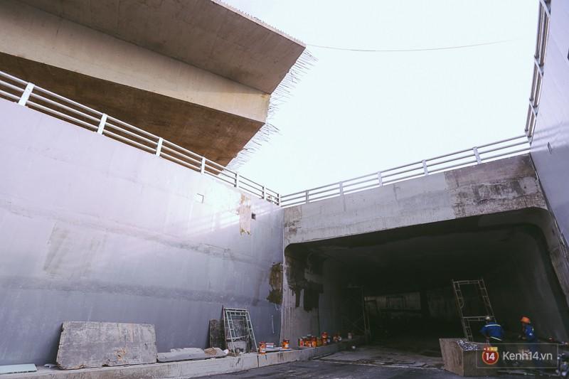 Cận cảnh hai nút giao thông 3 tầng đầu tiên ở Sài Gòn có tuổi thọ 100 năm, chịu được động đất cấp 7 - Ảnh 12.