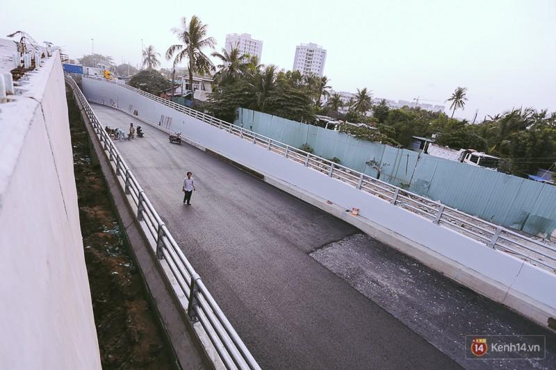 Cận cảnh hai nút giao thông 3 tầng đầu tiên ở Sài Gòn có tuổi thọ 100 năm, chịu được động đất cấp 7 - Ảnh 7.