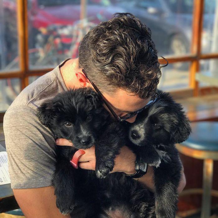 Cứu sống hai chú chó nhỏ, anh chủ tốt bụng còn đưa chúng đi du ngoạn khắp thế gian - Ảnh 7.
