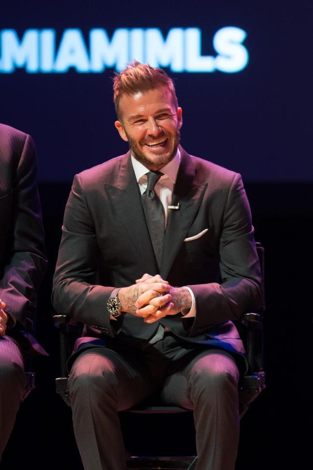 Sau 4 năm nỗ lực, David Beckham hạnh phúc thông báo thành lập đội bóng riêng ở Mỹ - Ảnh 1.