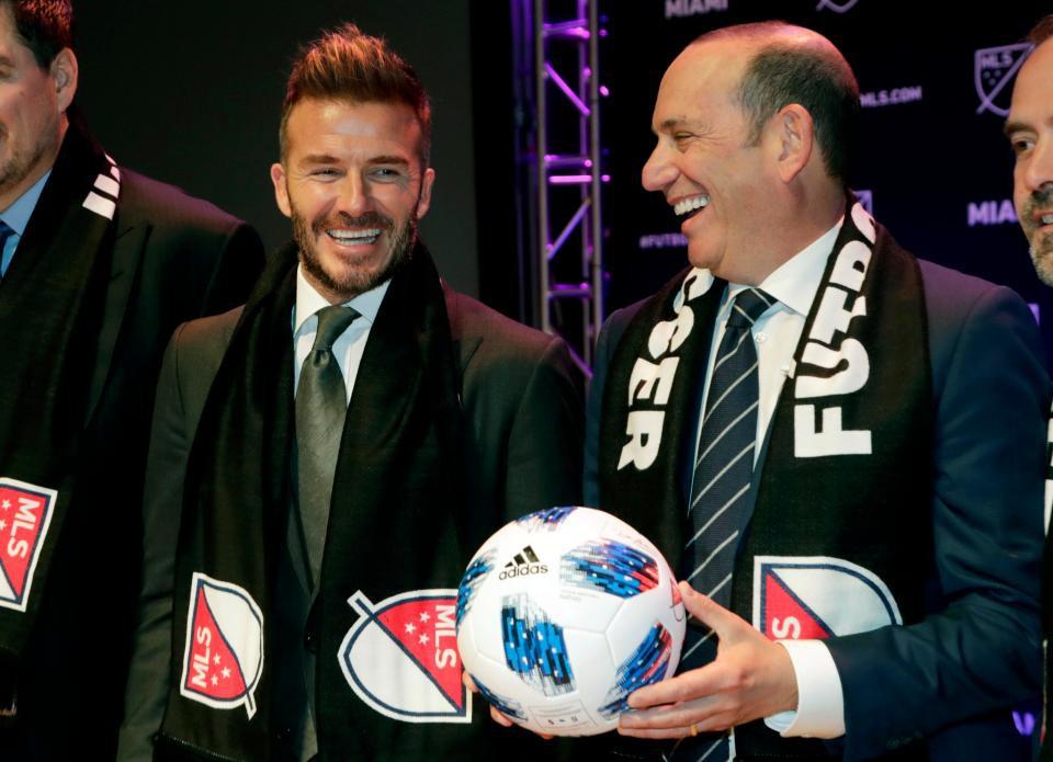 Sau 4 năm nỗ lực, David Beckham hạnh phúc thông báo thành lập đội bóng riêng ở Mỹ - Ảnh 4.